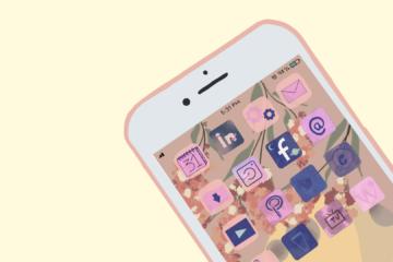 Phone simple pour illustrer article blog EPONA